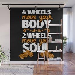 Biker motorcycle rider gift Wall Mural