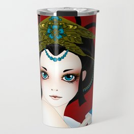 GeishaDoll Travel Mug