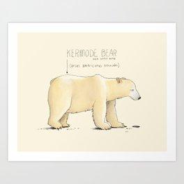 Kermode Bear Art Print