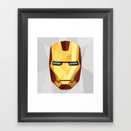 IronMan Fracture Framed Art Print