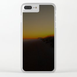 Hazy Skies Clear iPhone Case