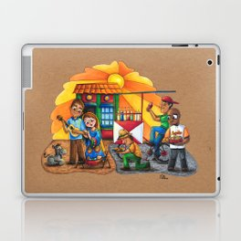 Pesebre de Navidad Maracucho / Christmas Nativity set from Maracaibo Laptop & iPad Skin