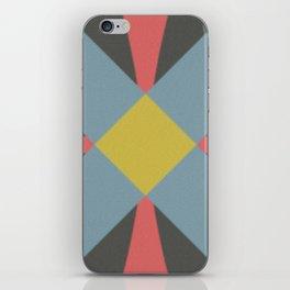Blue gray iPhone Skin
