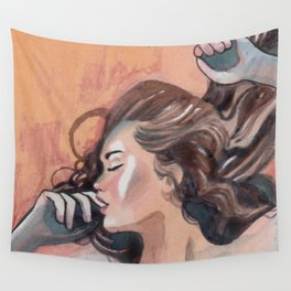 Flavor of orange Wall Tapestry