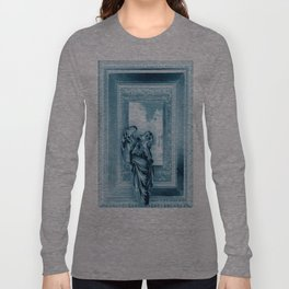 Angel of Bristol (Blue - Inverted) Long Sleeve T-shirt