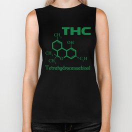 I Love THC Biker Tank
