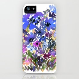 Heavenly Blues and Purples iPhone Case