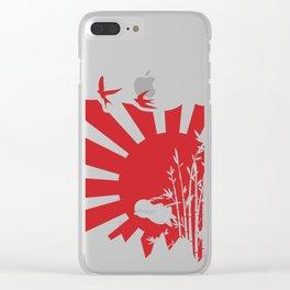 Penguin Bushido Clear iPhone Case