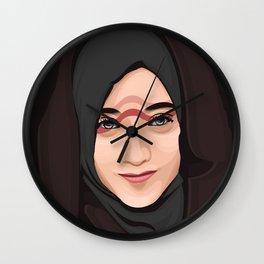 Hijab Wall Clock