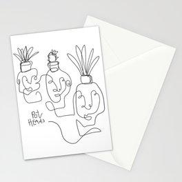 """Pot Heads"" Stationery Cards"