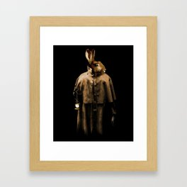 The Rabbit Framed Art Print