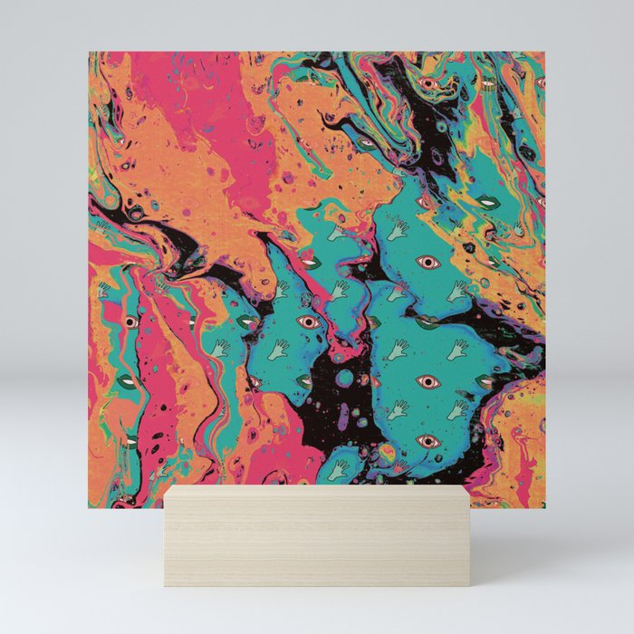 Senses pouring II Mini Art Print