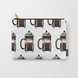 French Press - Brown Carry-All Pouch
