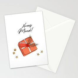 Xmas gift decoration Stationery Cards