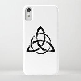 Triquetra iPhone Case