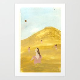 mommy issues Art Print