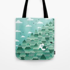 Tree Hugger (Spring & Summer version) Tote Bag