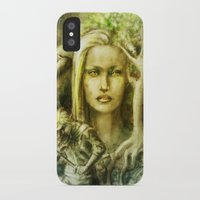 norway iPhone & iPod Cases featuring Norway by Holly Carton