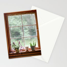 Out the Garden Window Stationery Cards