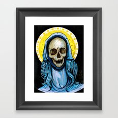The Reliquary of Mary Magdalene Framed Art Print