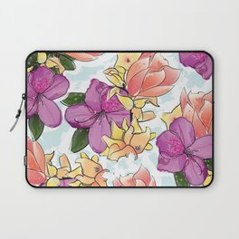 the magnolia Laptop Sleeve