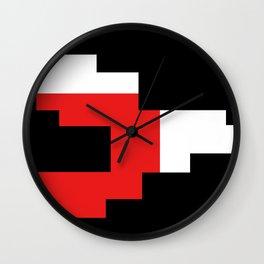 PIXEL 2 by Kimberly J Graphics Wall Clock