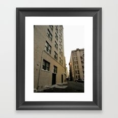 Another Alley Framed Art Print