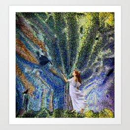 Vernal Equinox - Mystic Night Art Print