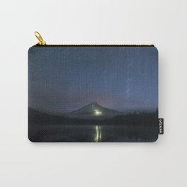 Lights on Mount Hood Carry-All Pouch