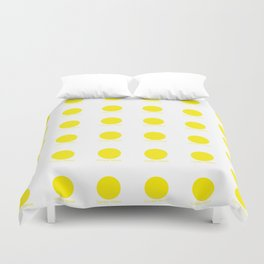 Canary Yellow Duvet Cover
