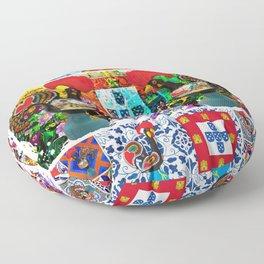 Portugal, galo de barcelos Floor Pillow