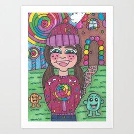Return to Candy Land Art Print