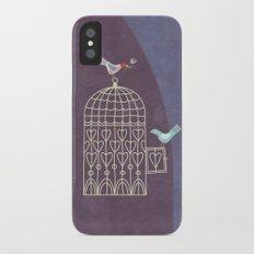 Leaving the Birdcage iPhone X Slim Case