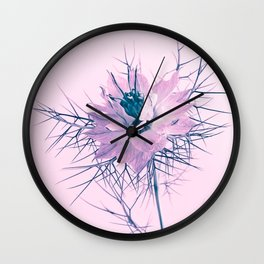 pink spring flower Wall Clock