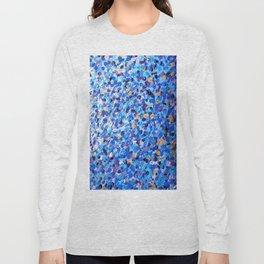 Blue Spots 004 Long Sleeve T-shirt