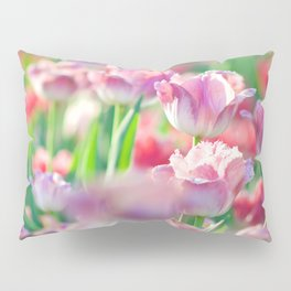 Spring Tulips Redux - The Flower Collection Pillow Sham