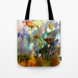 flowers on the field Tote Bag