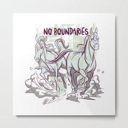 No Boundaries Metal Print