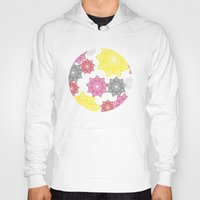 floral pattern Hoodies featuring Floral Pattern by C Designz