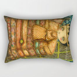 Sleepless Nights With The Princess And The Pea Rectangular Pillow