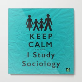 Sociology  Metal Print