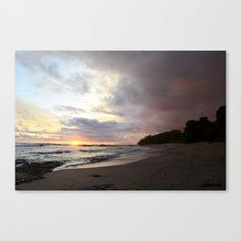 Sunset in Santa Teresa 3 Canvas Print