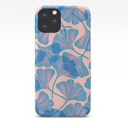 Abstraction_Ginkgo_Pattern_Minimalism_002 iPhone Case