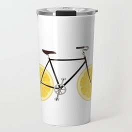 Lemon Bike Travel Mug