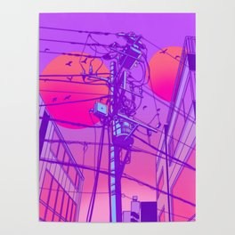 Anime Wires Poster