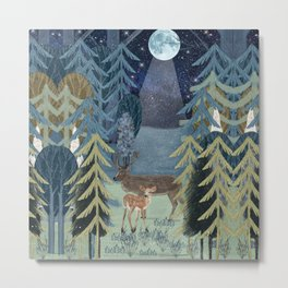 the secret forest Metal Print