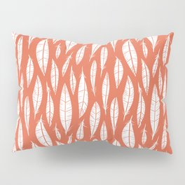 Quail Feathers (Poppy) Pillow Sham