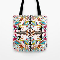 shell Tote Bags featuring Shell by András Récze