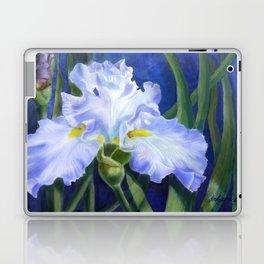 Blue Ruffles Laptop & iPad Skin