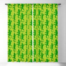 Green Lizard Blackout Curtain